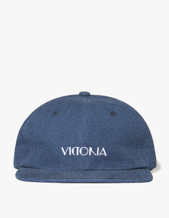 Victoria Hong Kong Knockout Logo 6 Panel Hat - Navy | HEIGHTS. | International Store