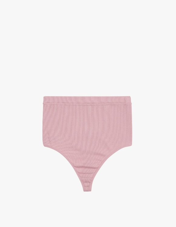 Dohyo High Waist Back T Rib Brief - Pink | HEIGHTS. | International Store