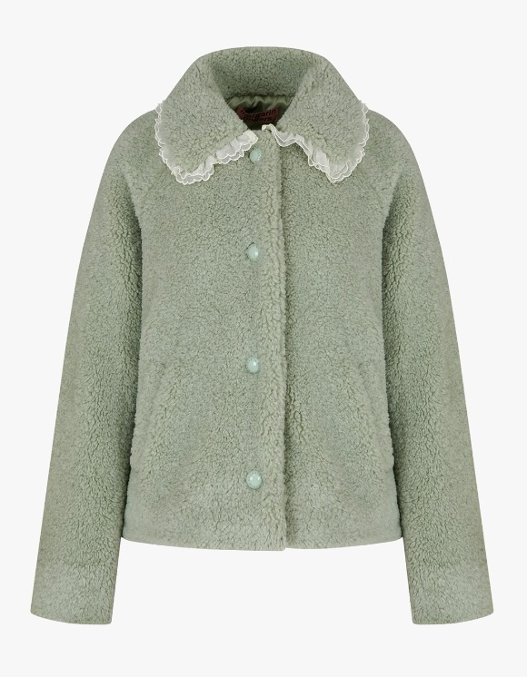 Margarin Fingers Lace Bukeul Jacket - Mint | HEIGHTS. | International Store