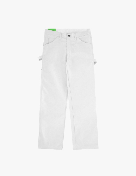 Mister Green Green Bootleg Dickies Pants - White | HEIGHTS. | International Store