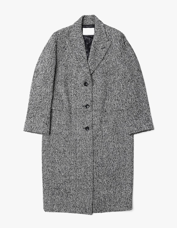 s/e/o Tailored Single Coat - Herringbone | HEIGHTS. | International Store