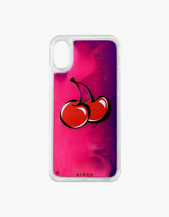 KIRSH Big Cherry Gradation Water IPhone Case JS - Violet | HEIGHTS. | International Store