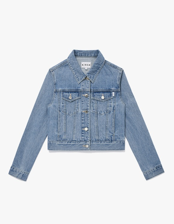 KIRSH KIRSH Denim Trucker Jacket JS - Light Blue | HEIGHTS. | International Store
