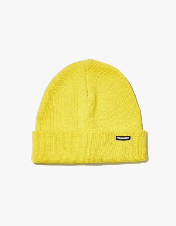 WKNDRS Basic Beanie - Yellow | HEIGHTS. | International Store