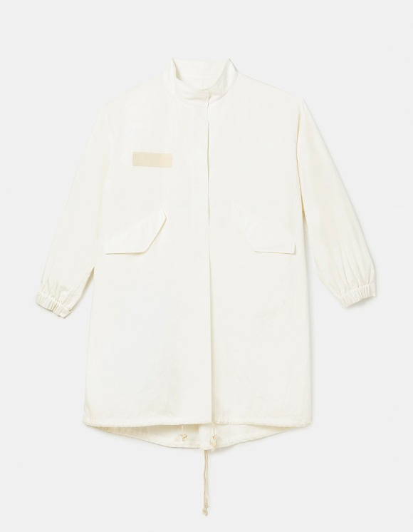 s/e/o Open Back Parka - White | HEIGHTS. | International Store