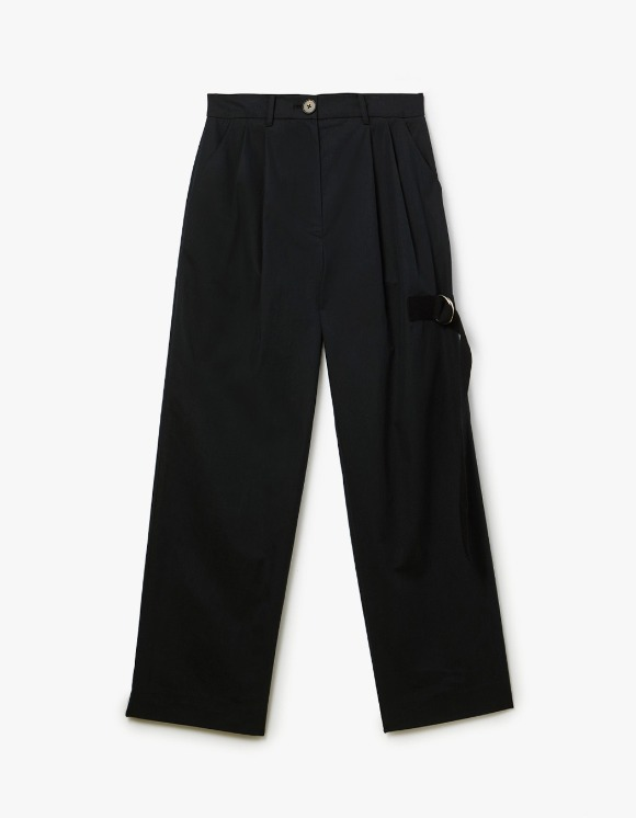 s/e/o Buckle Strap Pants - Black | HEIGHTS. | International Store