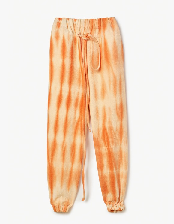 s/e/o Hand Dyed Sweat Pants - Orange | HEIGHTS. | International Store