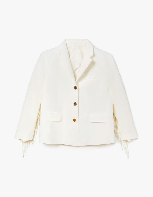 s/e/o CL Gringe Jacket - White | HEIGHTS. | International Store