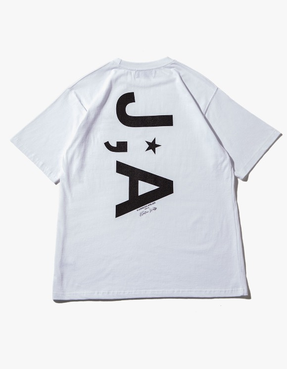 JOEGUSH J;A Logo T-shirts - White | HEIGHTS. | International Store
