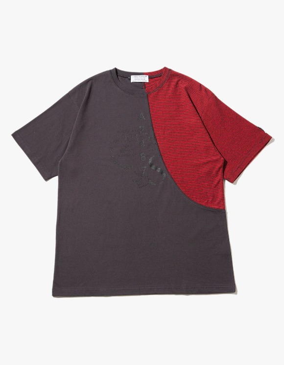 JOEGUSH Archery Stripe T-shirts - Red | HEIGHTS. | International Store