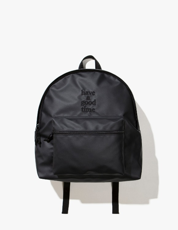 have a good time Logo Backpack - Charcoal | HEIGHTS. | International Store