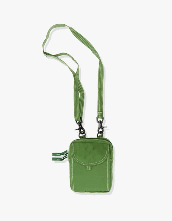Pop Trading Company Passport Pouch - Green | HEIGHTS. | International Store