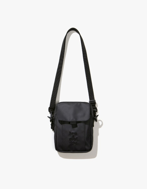 have a good time Logo Shoulder Bag - Charcoal | HEIGHTS. | International Store