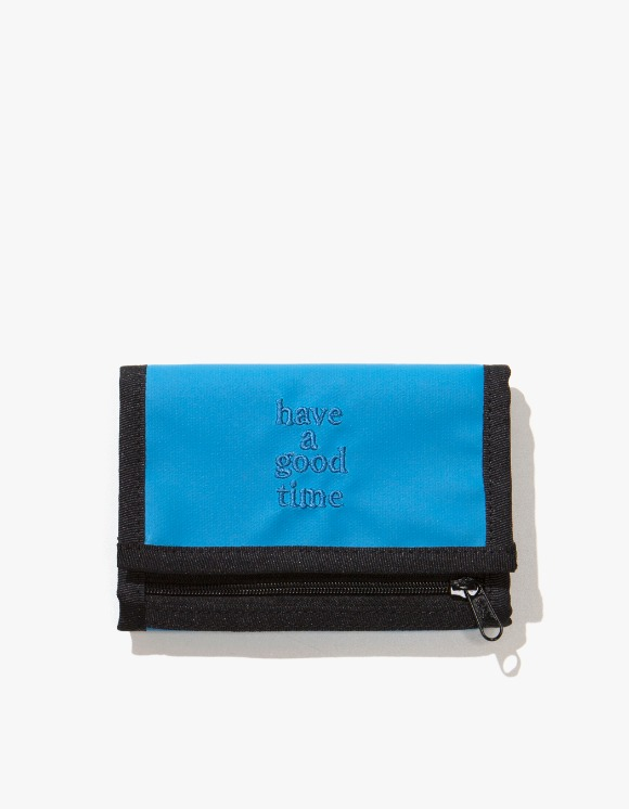 have a good time Logo Wallet - Smoky Blue | HEIGHTS. | International Store