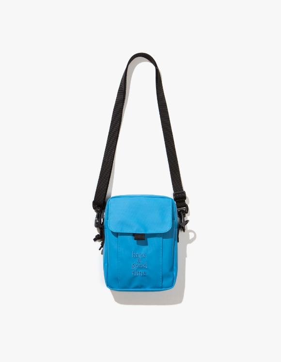 have a good time Logo Shoulder Bag - Smoky Blue | HEIGHTS. | International Store
