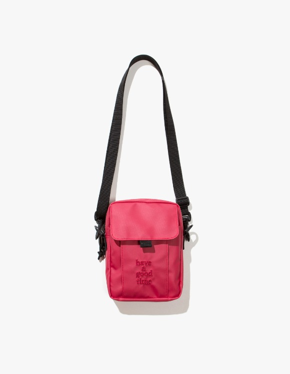 have a good time Logo Shoulder Bag - Smoky Red | HEIGHTS. | International Store