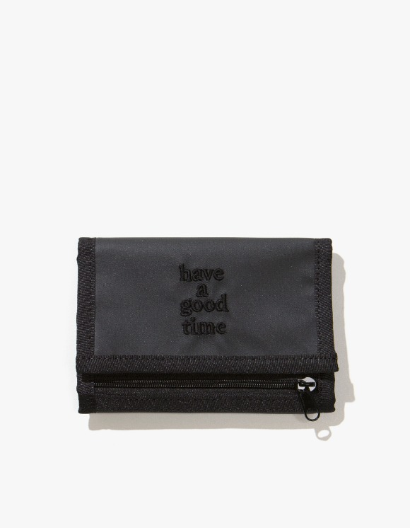 have a good time Logo Wallet - Charcoal | HEIGHTS. | International Store