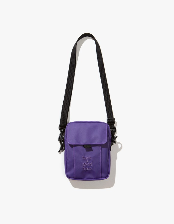 have a good time Logo Shoulder Bag - Smoky Purple | HEIGHTS. | International Store
