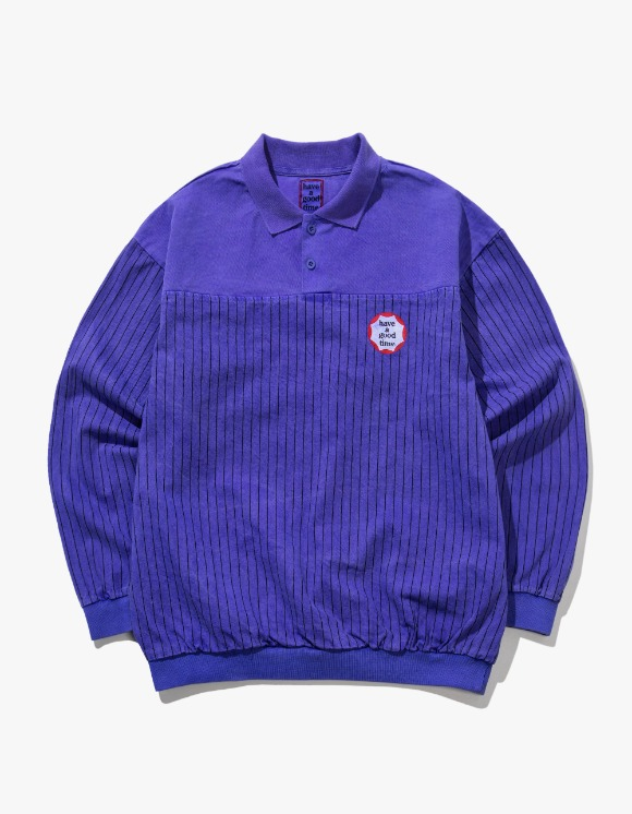 have a good time Circle Frame Washed Crewneck - Purple | HEIGHTS. | International Store