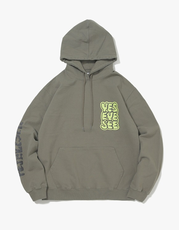 yeseyesee B-Logo Hoodie - Olive | HEIGHTS. | International Store