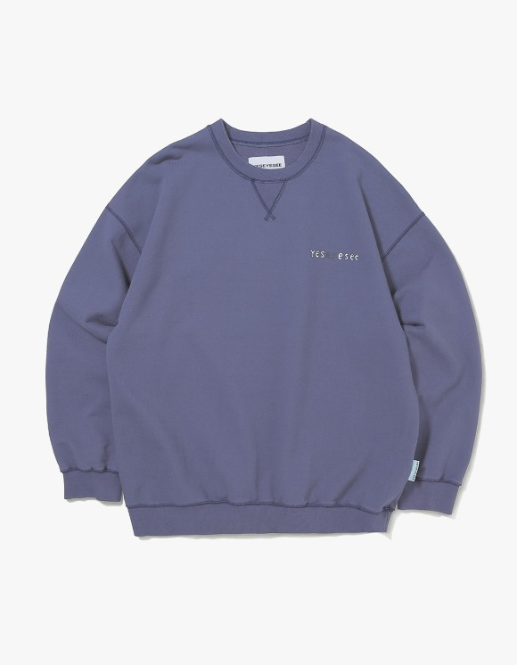 yeseyesee Juwonman Sweatshirts - Navy | HEIGHTS. | International Store