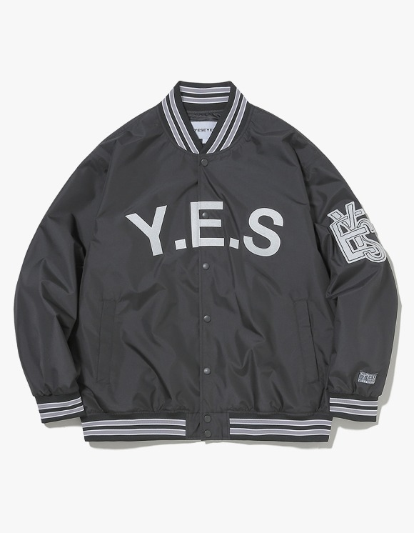 yeseyesee Varsity Jacket - Black | HEIGHTS. | International Store