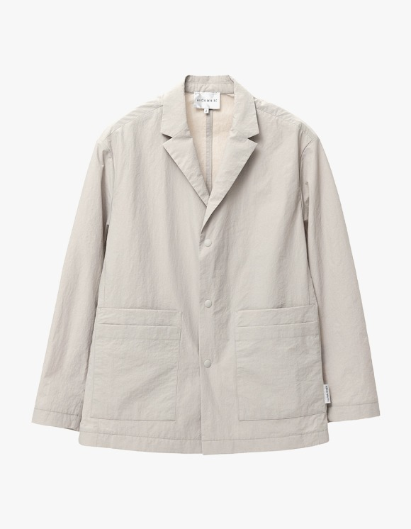 AECA WHITE Double Pocket  Relaxed Blazer - Sand Beige | HEIGHTS. | International Store