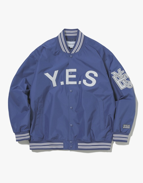 yeseyesee Varsity Jacket - Navy | HEIGHTS. | International Store