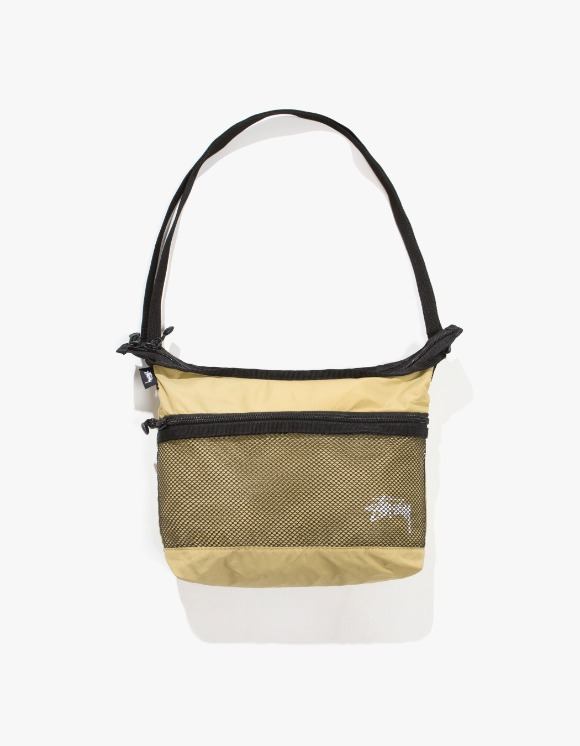 Stussy Light Weight Shoulder Bag - Gold | HEIGHTS. | International Store