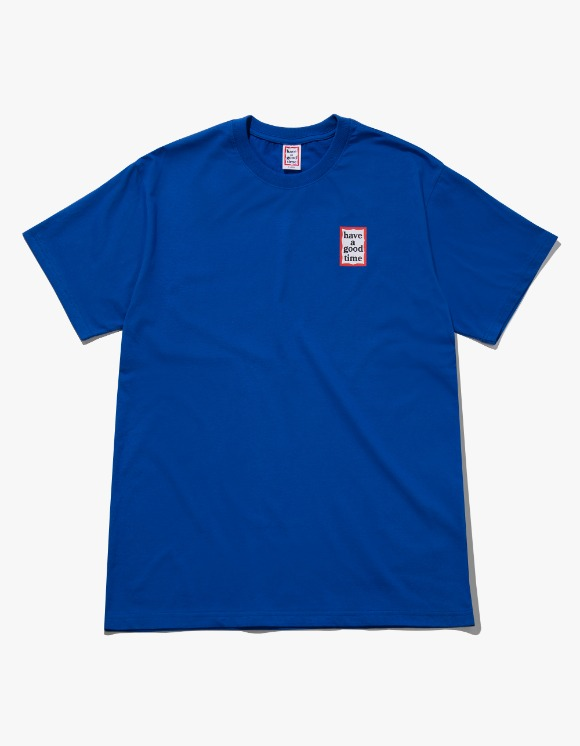have a good time Mini Frame S/S Tee - Cobalt Blue | HEIGHTS. | International Store