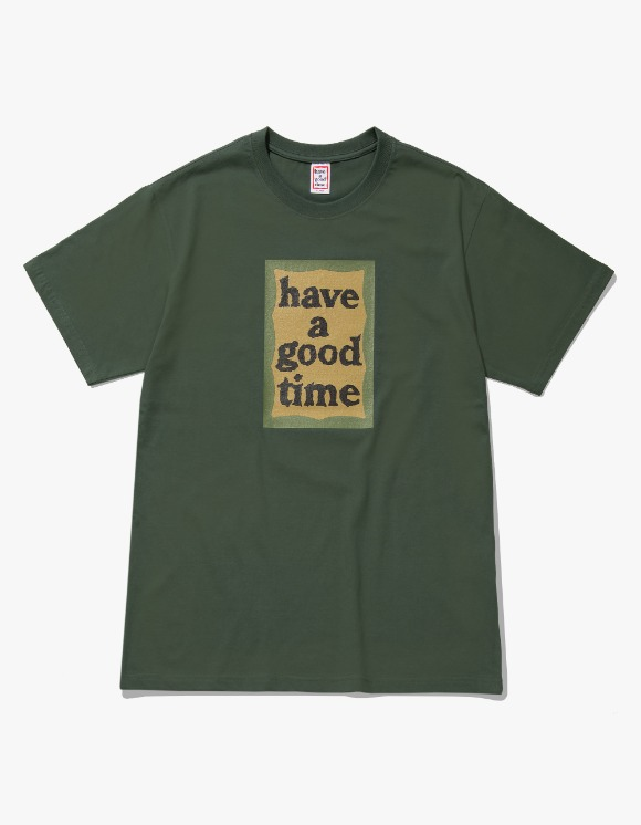 have a good time Military Frame S/S Tee - Military Green | HEIGHTS. | International Store