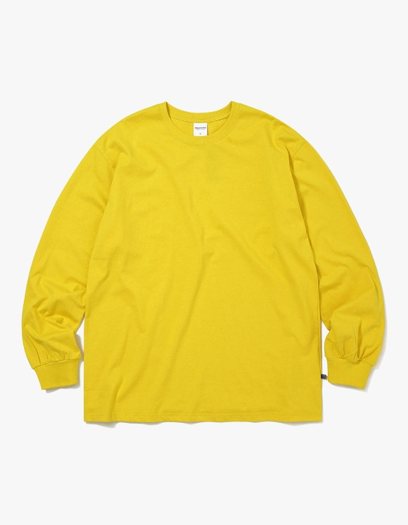 thisisneverthat SP-3 L/SL Top - Yellow | HEIGHTS. | International Store