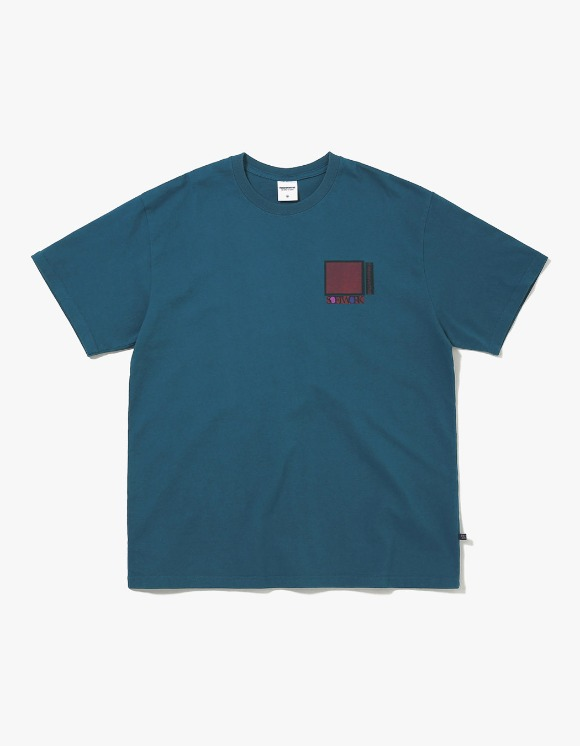 thisisneverthat Overlapped S.W. Tee - Dark Bluegreen | HEIGHTS. | International Store
