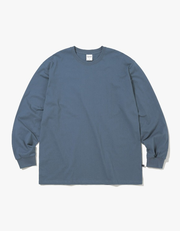 thisisneverthat SP-3 L/SL Top - Dark Bluegrey | HEIGHTS. | International Store