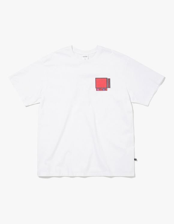 thisisneverthat Overlapped S.W. Tee - White | HEIGHTS. | International Store
