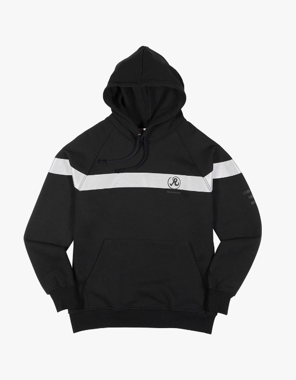 Richardson 3M Drop Shoulder Hoodie - Black | HEIGHTS. | International Store
