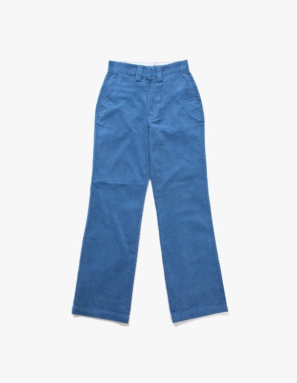 Stussy Corduroy Wide Pant - Blue | HEIGHTS. | International Store