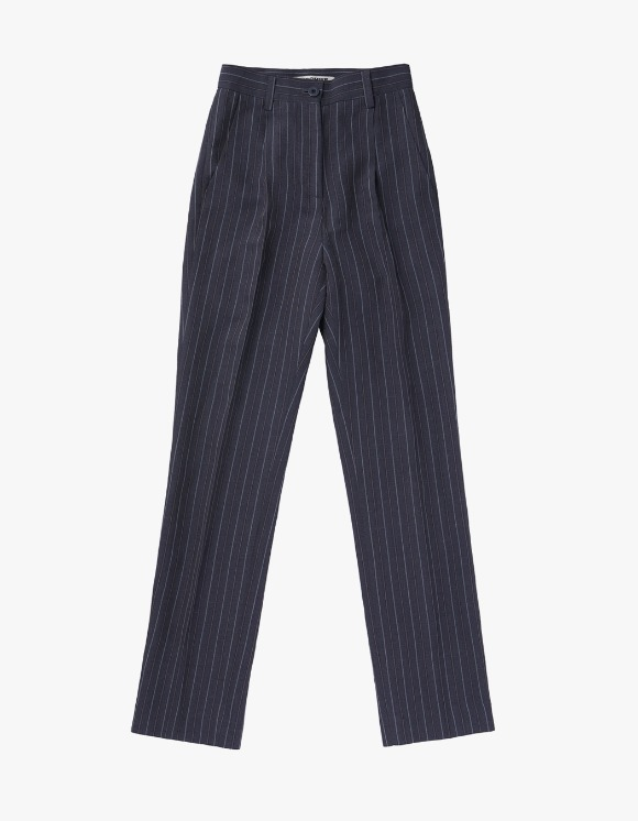 MISCHIEF Striped Long Suit Pants - Grey | HEIGHTS. | International Store
