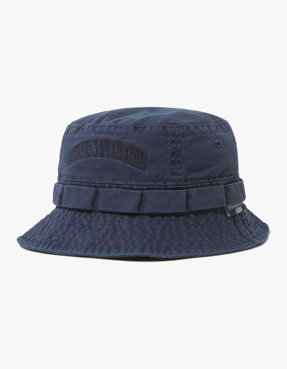 thisisneverthat Overdyed Jungle Bucket Hat - Navy | HEIGHTS. | International Store