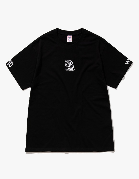 have a good time Handstyle Logo S/S Tee - Black | HEIGHTS. | International Store