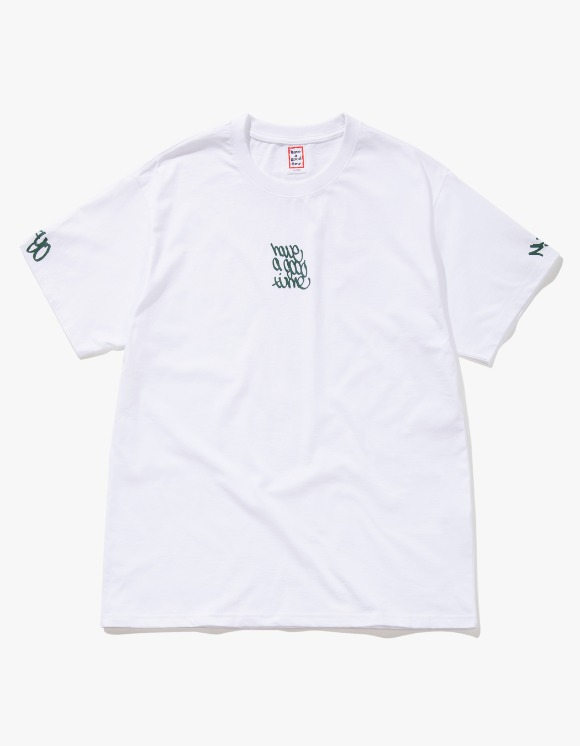 have a good time Handstyle Logo S/S Tee - White | HEIGHTS. | International Store