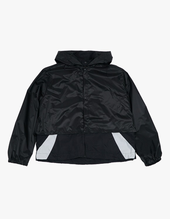 San San Track Jacket w/ Rain Cover - Black | HEIGHTS. | International Store