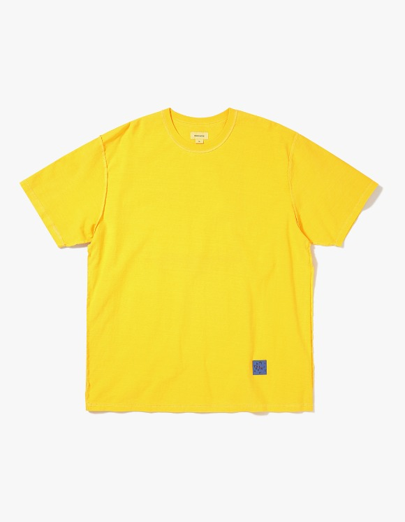 thisisneverthat Reverse Overdyed Tee - Yellow | HEIGHTS. | International Store
