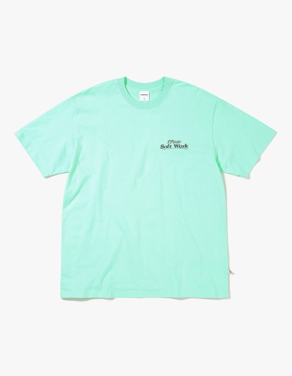 thisisneverthat SOFT WORK Tee - Mint | HEIGHTS. | International Store