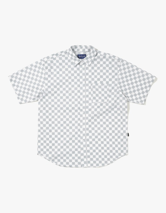 thisisneverthat CS Check S/S Shirt - Grey/White | HEIGHTS. | International Store