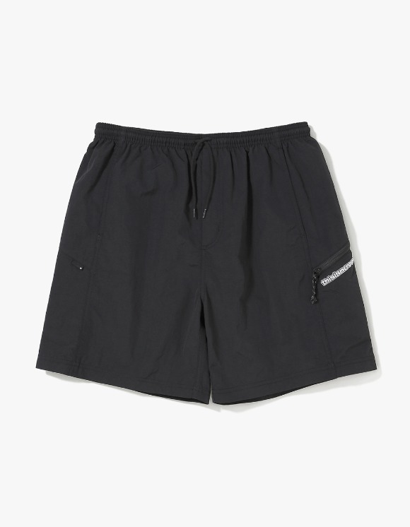 thisisneverthat Zip Jogging Short - Black | HEIGHTS. | International Store
