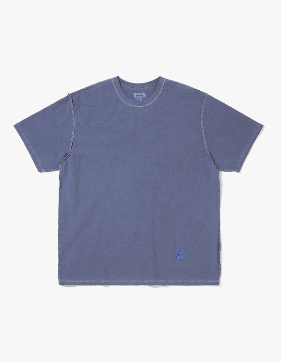 thisisneverthat Reverse Overdyed Tee - Navy | HEIGHTS. | International Store