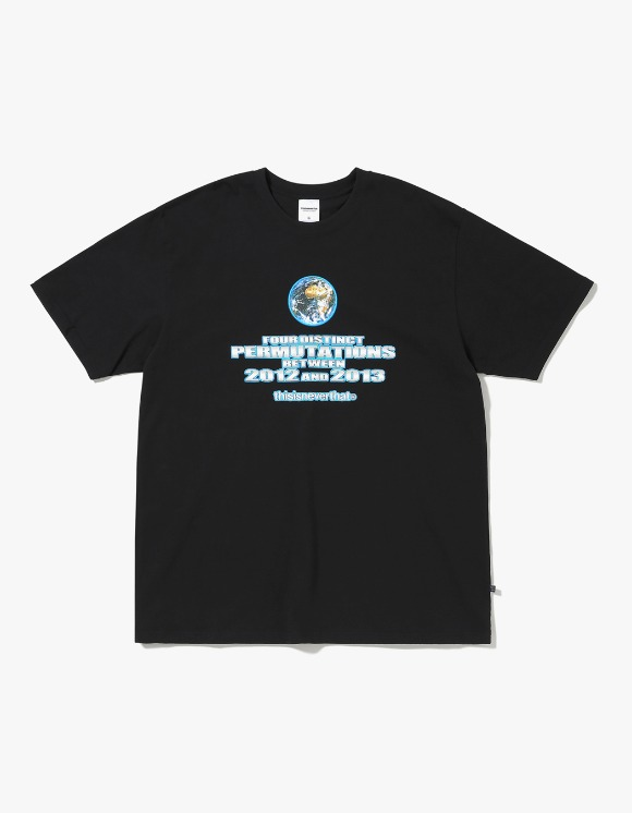 thisisneverthat Earth Tee - Black | HEIGHTS. | International Store