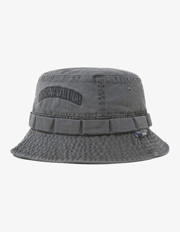 thisisneverthat Overdyed Jungle Bucket Hat - Charcoal | HEIGHTS. | International Store