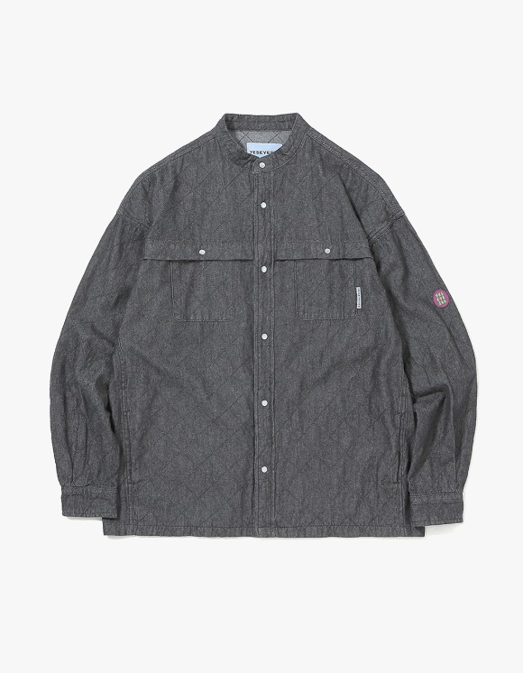 yeseyesee Net Denim Shirts - Black | HEIGHTS. | International Store